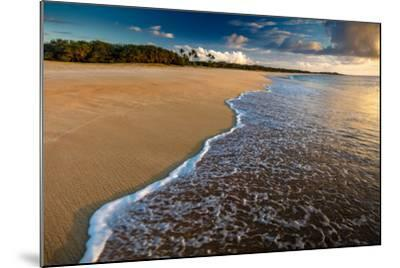 Sunset Above Papohaku Beach on Molokai's West End-Richard A^ Cooke-Mounted Photographic Print