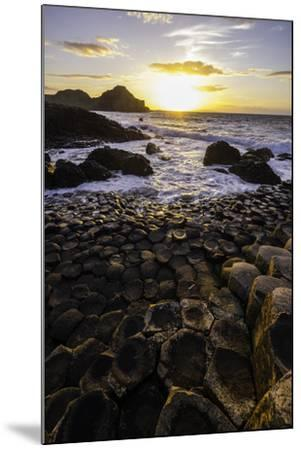 Giant's Causeway Lies at the Foot of Basalt Cliffs on the Edge of the Antrim Plateau-Jonathan Irish-Mounted Photographic Print