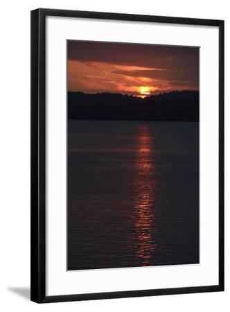 Sunrise from the Anchorage of Barro Colorado Island-Jonathan Kingston-Framed Photographic Print