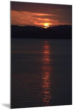 Sunrise from the Anchorage of Barro Colorado Island-Jonathan Kingston-Mounted Photographic Print