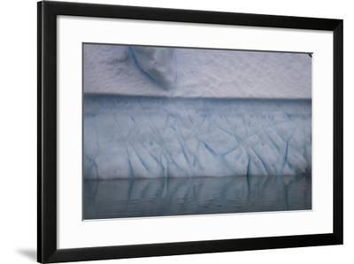 Ice Patterns on Cuverville Island-David Griffin-Framed Photographic Print