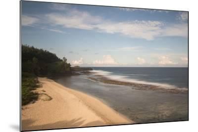 An Empty White Sand Beach-Gabby Salazar-Mounted Photographic Print