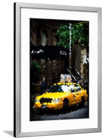 Low Poly New York Art - Traffic Light-Philippe Hugonnard-Framed Art Print