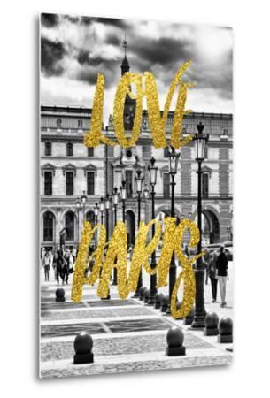 Paris Fashion Series - Love Paris - French Architecture-Philippe Hugonnard-Metal Print