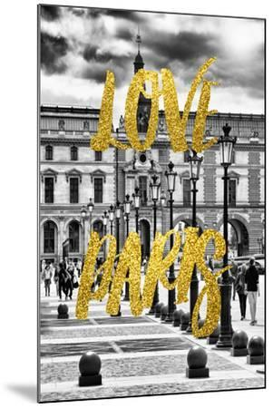 Paris Fashion Series - Love Paris - French Architecture-Philippe Hugonnard-Mounted Photographic Print