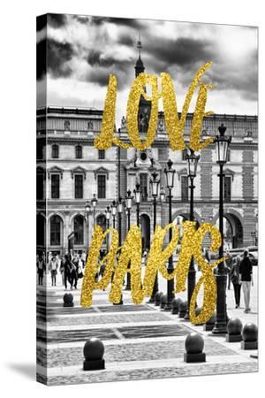 Paris Fashion Series - Love Paris - French Architecture-Philippe Hugonnard-Stretched Canvas Print