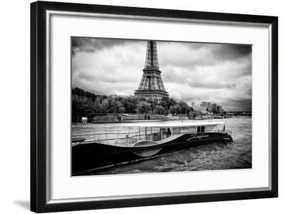 Paris sur Seine Collection - Josephine Cruise III-Philippe Hugonnard-Framed Photographic Print