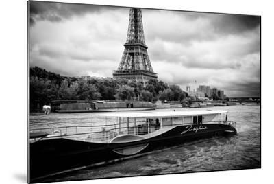 Paris sur Seine Collection - Josephine Cruise III-Philippe Hugonnard-Mounted Photographic Print