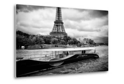 Paris sur Seine Collection - Josephine Cruise III-Philippe Hugonnard-Metal Print