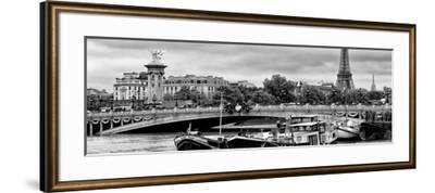 Paris sur Seine Collection - Instant in Paris II-Philippe Hugonnard-Framed Photographic Print