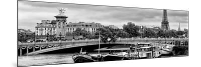 Paris sur Seine Collection - Instant in Paris II-Philippe Hugonnard-Mounted Photographic Print