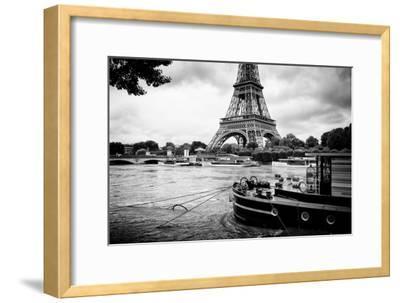 Paris sur Seine Collection - Vedettes de Paris IV-Philippe Hugonnard-Framed Photographic Print