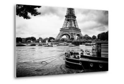 Paris sur Seine Collection - Vedettes de Paris IV-Philippe Hugonnard-Metal Print