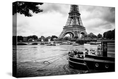 Paris sur Seine Collection - Vedettes de Paris IV-Philippe Hugonnard-Stretched Canvas Print