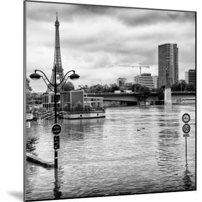 Paris sur Seine Collection - Trocadero Concorde IV-Philippe Hugonnard-Mounted Photographic Print