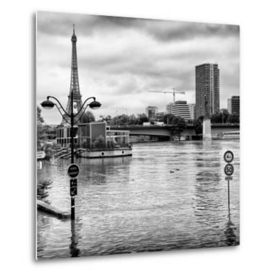 Paris sur Seine Collection - Trocadero Concorde IV-Philippe Hugonnard-Metal Print