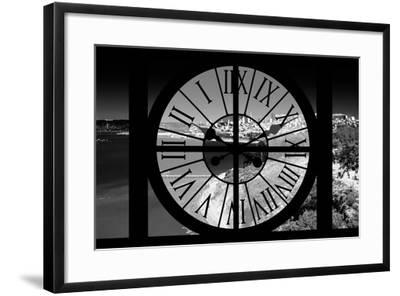 Giant Clock Window - View of the San Francisco Bay-Philippe Hugonnard-Framed Photographic Print