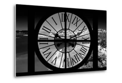 Giant Clock Window - View of the San Francisco Bay-Philippe Hugonnard-Metal Print