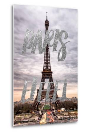 Paris Fashion Series - Paris Eiffel II-Philippe Hugonnard-Metal Print