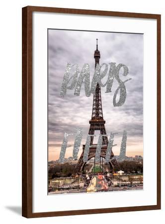 Paris Fashion Series - Paris Eiffel II-Philippe Hugonnard-Framed Photographic Print