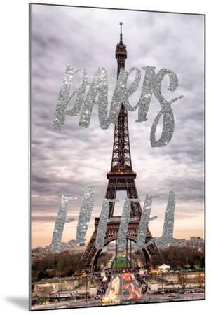 Paris Fashion Series - Paris Eiffel II-Philippe Hugonnard-Mounted Photographic Print