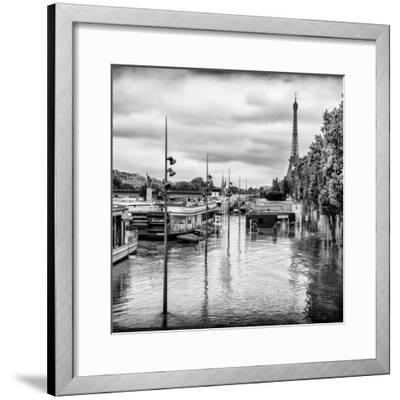 Paris sur Seine Collection - Morning on the Seine II-Philippe Hugonnard-Framed Photographic Print