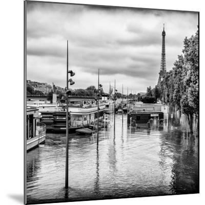 Paris sur Seine Collection - Morning on the Seine II-Philippe Hugonnard-Mounted Photographic Print
