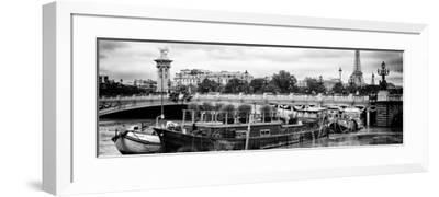 Paris sur Seine Collection - Afternoon in Paris VI-Philippe Hugonnard-Framed Photographic Print