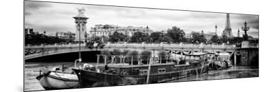 Paris sur Seine Collection - Afternoon in Paris VI-Philippe Hugonnard-Mounted Photographic Print