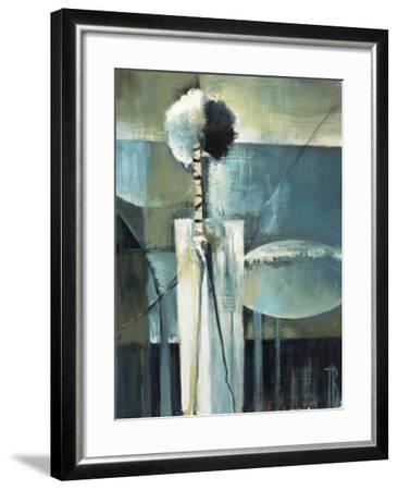 Blue Modern II-Terri Burris-Framed Art Print