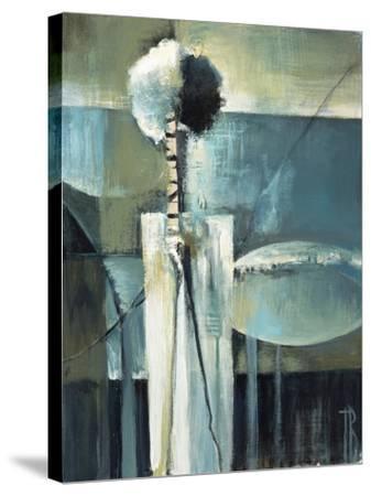 Blue Modern II-Terri Burris-Stretched Canvas Print