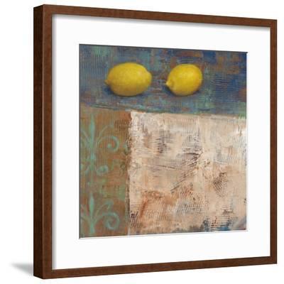 Lemons from Paris I-Carol Black-Framed Art Print