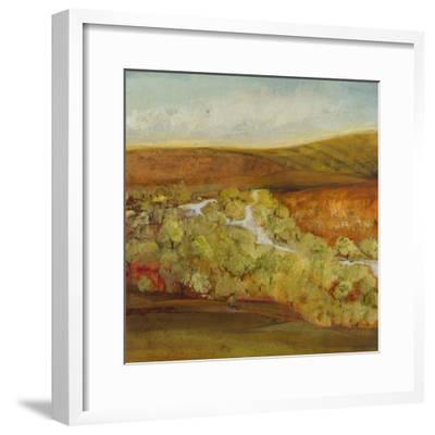 Autumn Saffron II-Jill Martin-Framed Art Print