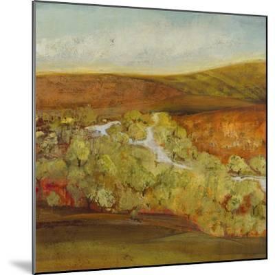 Autumn Saffron II-Jill Martin-Mounted Art Print