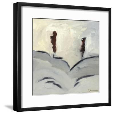 Winter Dance III-Bradford Brenner-Framed Art Print