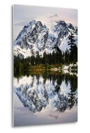 Fall Reflections-Nancy Crowell-Metal Print