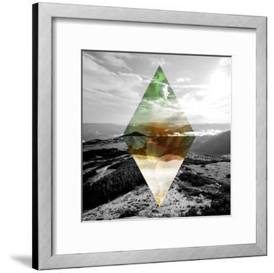 Celestial Landscape 4-THE Studio-Framed Premium Giclee Print
