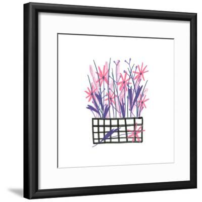 Flowerpot 5-Erin Lin-Framed Premium Giclee Print