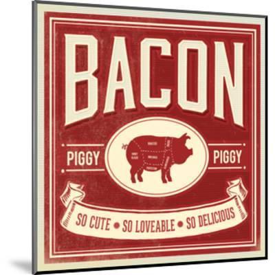 Piggy Piggy-Cory Steffen-Mounted Premium Giclee Print