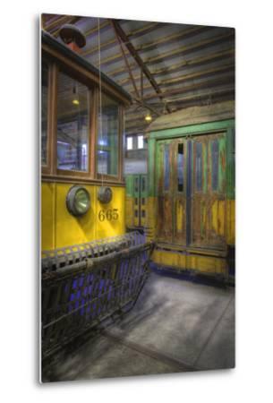 Los Angeles Railway Trolley #665-Robert Hansen-Metal Print