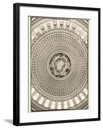 Capitol Rotunda-Lillis Werder-Framed Premium Photographic Print
