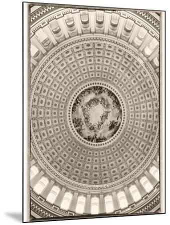 Capitol Rotunda-Lillis Werder-Mounted Premium Photographic Print