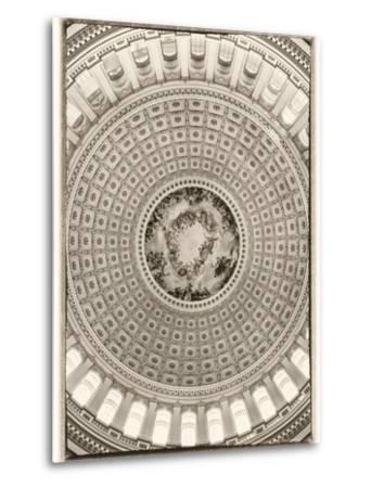 Capitol Rotunda-Lillis Werder-Metal Print