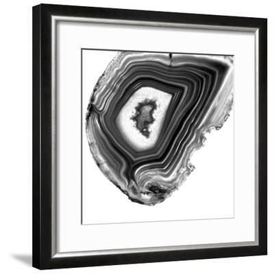 Grey Agate E-THE Studio-Framed Premium Photographic Print
