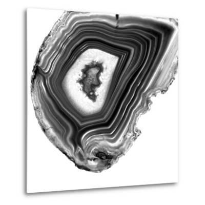Grey Agate E-THE Studio-Metal Print