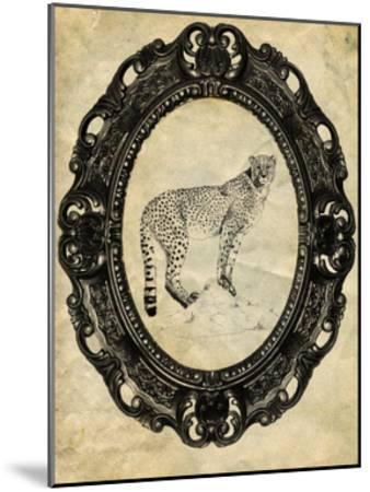 Framed Cheetah-THE Studio-Mounted Premium Giclee Print