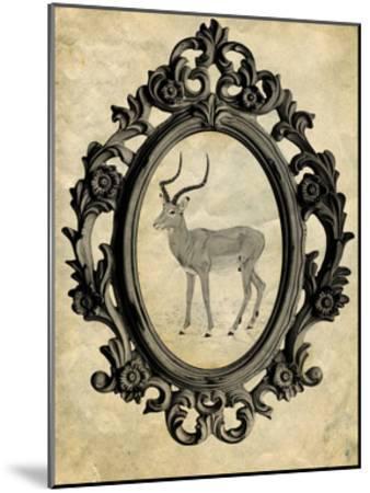 Framed Gazelle-THE Studio-Mounted Premium Giclee Print