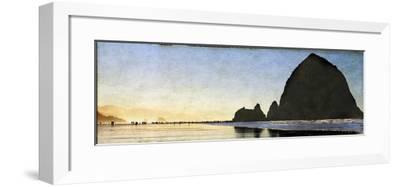 Cannon Beach Stroll-Doug Landreth-Framed Premium Photographic Print