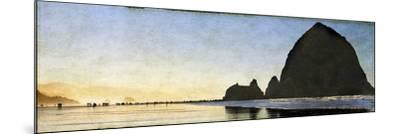 Cannon Beach Stroll-Doug Landreth-Mounted Premium Photographic Print