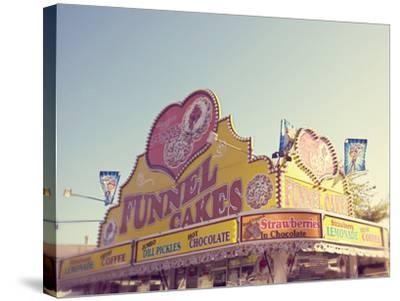 Funnel Cakes-Libertad Leal-Stretched Canvas Print